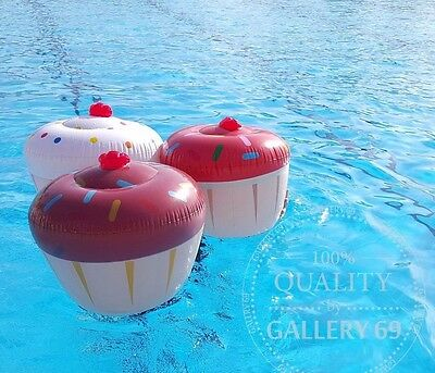 Inflatable Ice Cream Cupcake Donut Float Beach Swimming Pool Raft Party FreeShip