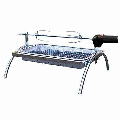 Barbeque Grill & Bag Asado Rotisserie Outdoor Cooking Chicken Lamb BBQ Portable