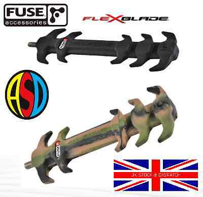 Fuse Flex Blade Compound Bow Stabiliser Camo or Black
