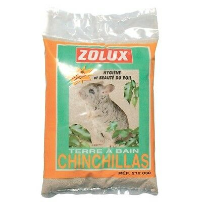 TERRE A BAIN SABLE CHINCHILLA 2 kg ZOLUX