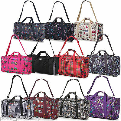 "21"" Hand Carry On Cabin Luggage Flight Bag Holdall Gym Sports Overnight Travel"