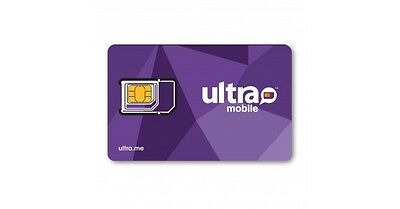 Ultra Mobile Micro/Regular SIM card for Unlocked GSM Phones - FREE SHIPPING