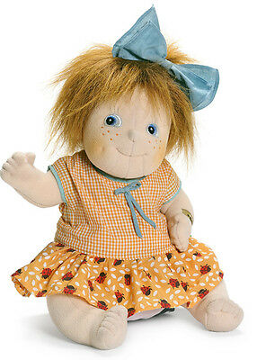 Little Anna von RubensBarn 40cm Rubens Barn Party Stoffpuppe Puppe orange 50031