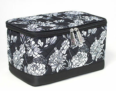NEW | Everything Mary | EVM10131-1 Black/White Deluxe Sewing Box | 28x17¾x15¼cm