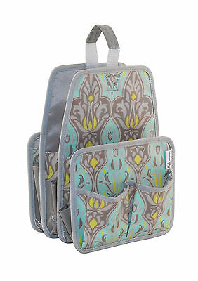 NEW Everything Mary  EVM9886-1 Damask if You Do Print Wampus Caddy 21½x23½x31cm