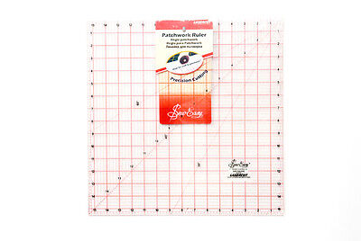 Sew Easy NL4179 Acrylic Quilting Ruler 15½ square Sewing/Patchwork/Papercraft