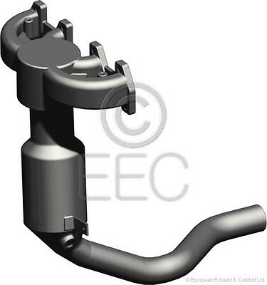 FI6019T EUROCATS EEC CATALYTIC CONVERTER CAT PIPE FIAT TYPE APPROVED inc FIT KIT