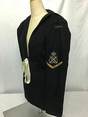 WWII Canadian Navy Enlisted Jumper Dress Blue Top