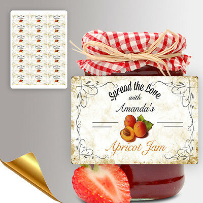 Personalised Jam Pot Jar Labels Homemade Preserves Conserve