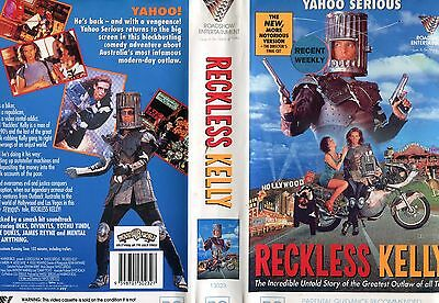 Reckless Kelly Australian Comedy Cult Classic Rare VHS Roadshow