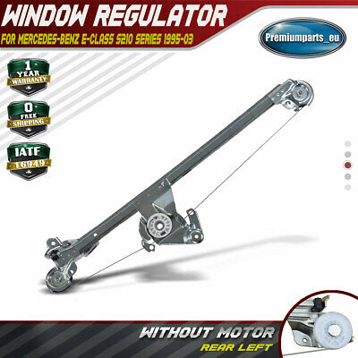Power Window Regulator W/o Motor for Mercedes Benz E-Class W210 S210 Rear Left