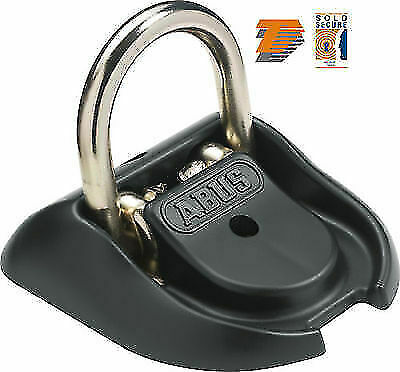 Abus Wba 100 Thatcham Cat3 Motorcycle Security Ground /wall Anchor