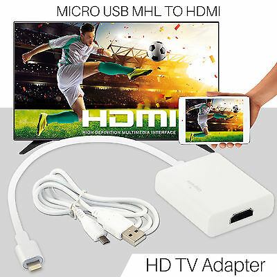8 Pin Lightning To HDMI Adapter HDTV AV Cable For iPhone 5 5s 6 6s iPad  Mini UK