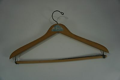 Vtg. Wooden Hanger Bond Clothes