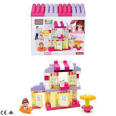 Mega Bloks Fisher-Price First Builders Cozy Cottage 41pcs Building Set 1-5 Years