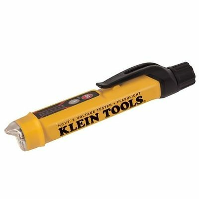 Klein Tools NCVT-3 Non-Contact Voltage Tester with Flashlight - NEW!