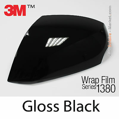 152x200cm FILM Gloss Black 3M 1380 G12 New Series Car Wrapping Vinyle COVERING
