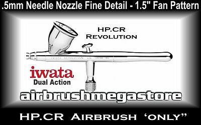 Iwata Revolution Airbrush HP.CR .5mm ( Airbrush Only ) + Free Insured Post