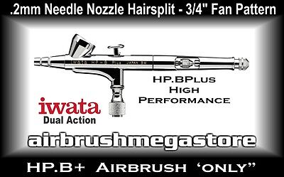 Iwata High Performance Airbrush HP.BPlus .2mm (Airbrush Only) +Free Insured Post