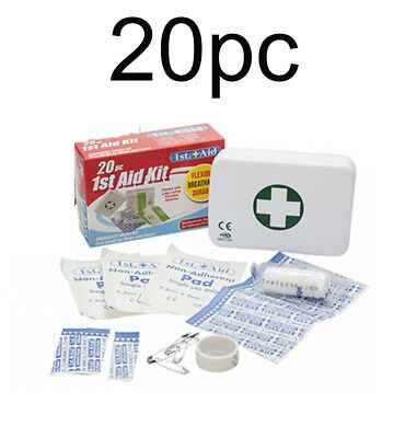 First 1St Aid Kit- 38 Pc/pieces-Emergency Medical Kit-Home/office/sports/camping