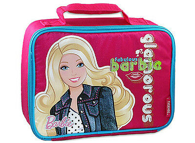 Barbie Lunchbox-By Thermos Co.includes A Sandwich Box!