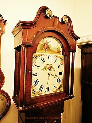 Beautiful Antique Long Case Clock Circa 1850. Perfect Working Order