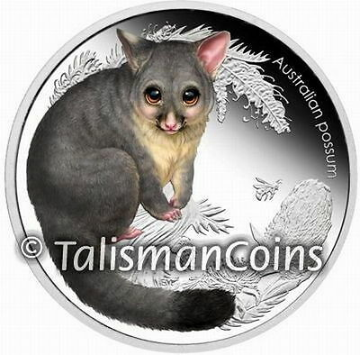 Australia 2013 Bush Babies II #2 Baby Possum 50 Cents 1/2 Oz Pure Silver Proof
