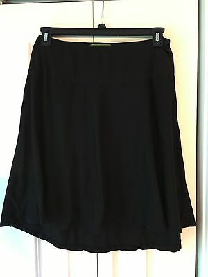 A Pea in the Pod hi low Skirt Velvet collection Medium cotton pullover stretch