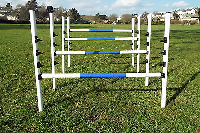 Dog Agility Equipment 4 Maintenance Free Jumps