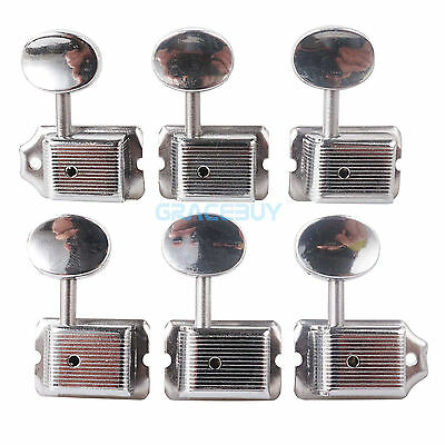 6R Vintage Style String Tuning Pegs Machine Heads for Strat Tele Electric Guitar