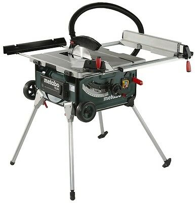 Metabo 2000W Table Saw with Integrated Stand and trolley TS254