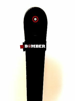 Skis Bomber Stealth All Mountain (2016 Model 172cm with Knee Carbon Bindings)