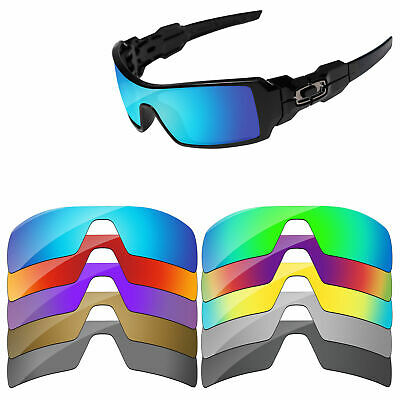 PapaViva Polarized Replacement Lenses For-Oakley Oil Rig Sunglasses Multi-Option