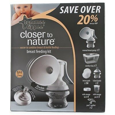 Tommee Tippee Closer to Nature Breastfeeding Starter Set - 42355671