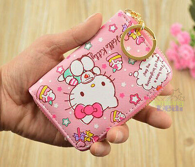Cute Hello Kitty ID Credit Card ID Card Holder Business Card Case 20 Holders
