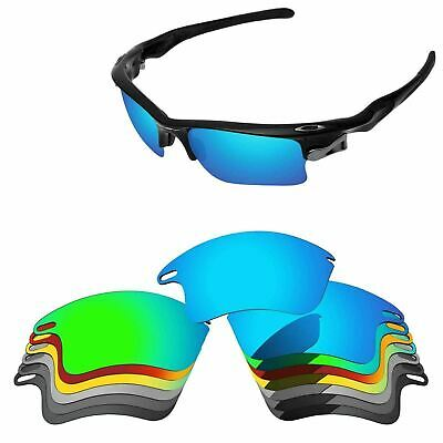 PapaViva Polarized Replacement Lenses For-Oakley Fast Jacket XL Multi-Options