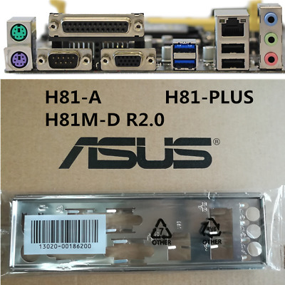 ASUS I//O IO SHIELD BLENDE BRACKET  P8H61-M LX P8H61-M LX PLUS