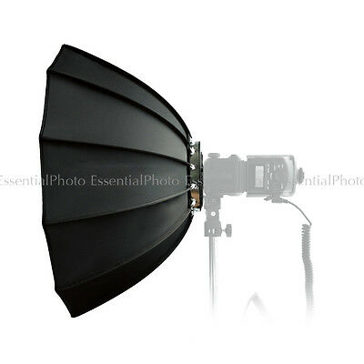 Quickbox70 70cm Dodecagonal Easy-Open Softbox for Hybrid360 Bare Bulb Flash