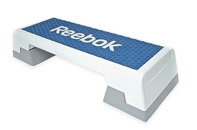 Reebok Step blau weiss Stepper 7.5 kg Steppbrett Step Aerobic Training Fitness