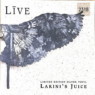 "Live - Lakini's Juice: Limited Edition Silver Vinyl 7"" Single (New/unplayed)"