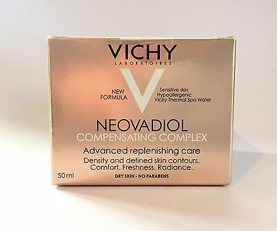 Vichy Neovadiol Compensating Complex Dry Skin 50ml No Parabens Exp: 09.2018