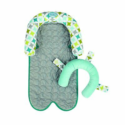 """Nuby 2-in-1 """"Grow with me"""" baby & infant car seat & stroller Head head support"""