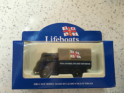 Lledo Rnli Truck Gold Excellent Condition Lifeboat