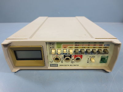 1 Used Fluke 8050A Digital Multimeter