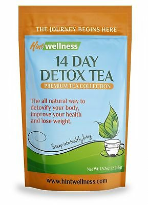 14 Day Detox Tea Weight Loss Body Cleanse Fit Slimming Blend of Natural Herbs