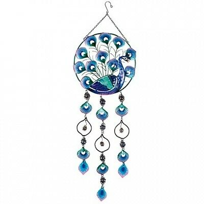 Peacock Wind Chime. Free Delivery