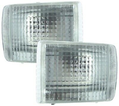 CLEAR FRONT INDICATORS FOR FORD SIERRA COSWORTH & XR4i / ESCORT COSWORTH (92-95)