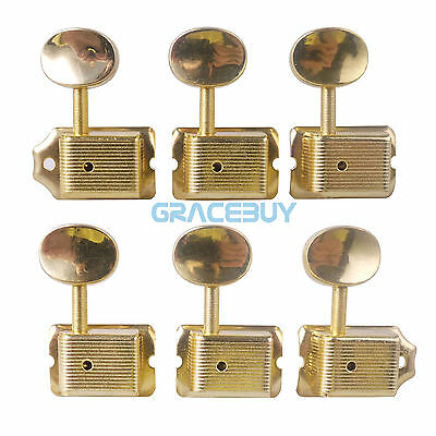6R Vintage Electric Guitar Machine Heads String Tuning Pegs Key for Strat Fender
