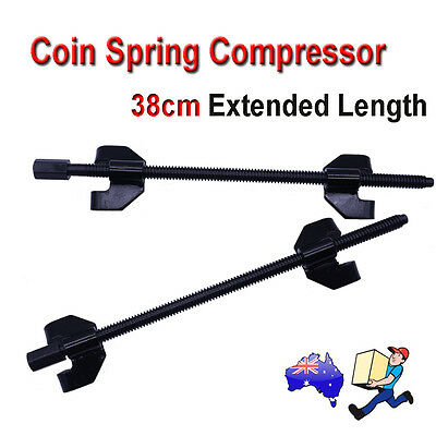 380mm Coil Spring Compressor Clamp Heavy Duty Quality Car Truck Auto Tool 2x Set