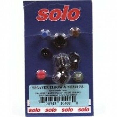 Solo 0610408-p Sprayer Elbow and Nozzle Assortment. Delivery is Free